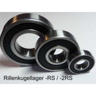 Rillenkugellager 6004-2RS-27/32-C3 (21,431x42x12 mm) - PFI